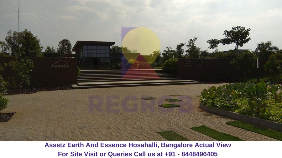 Assetz Earth And Essence Hosahalli, Bangalore Actual View of Site (5)