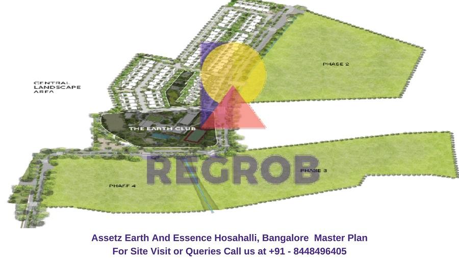 Assetz Earth And Essence Hosahalli, Bangalore Master Plan