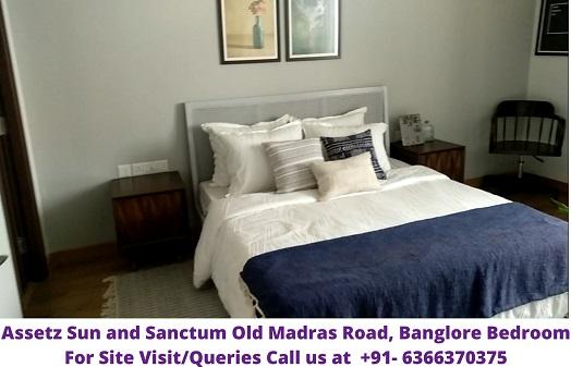 Assetz Sun and Sanctum Old Madras Road Banglore Bedroom