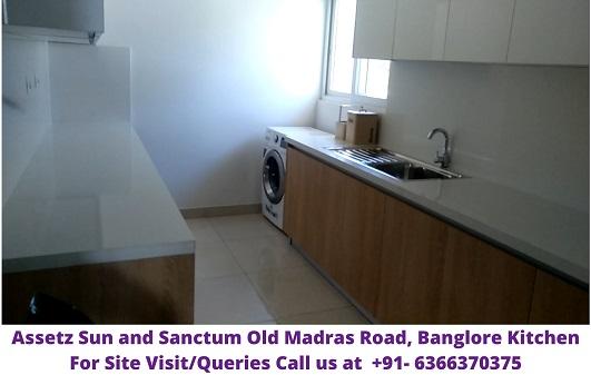 Assetz Sun and Sanctum Old Madras Road Banglore Kitchen