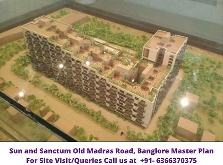Assetz Sun and Sanctum Old Madras Road Banglore Master Plan