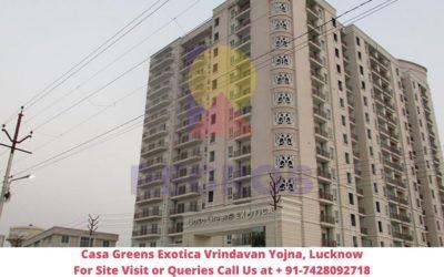 Casa Greens Exotica Vrindavan Yojna, Lucknow Actual View of Tower (1)