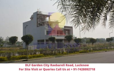 DLF Garden City Raebareli Road, Lucknow View of Site