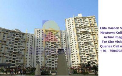 Elita Garden Vista Newtown Kolkata Building View