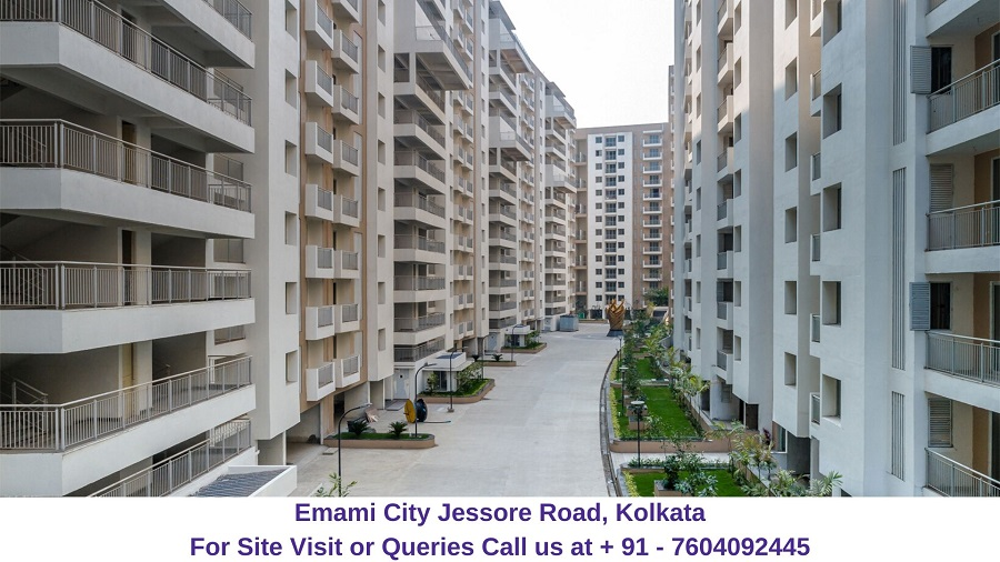 Emami City Jessore Road, Kolkata Actual Image