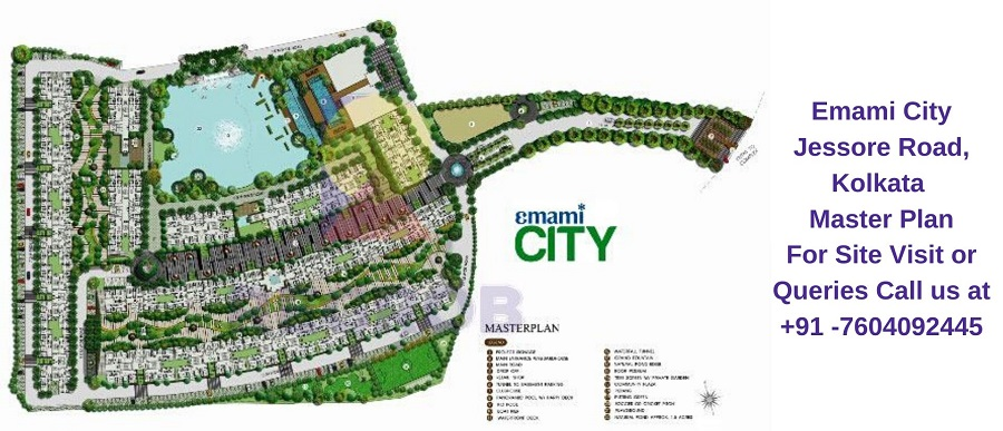 Emami City Jessore Road, Kolkata Master Plan