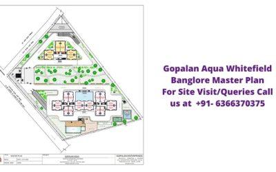 Gopalan Aqua Whitefield Bangalore Master Plan