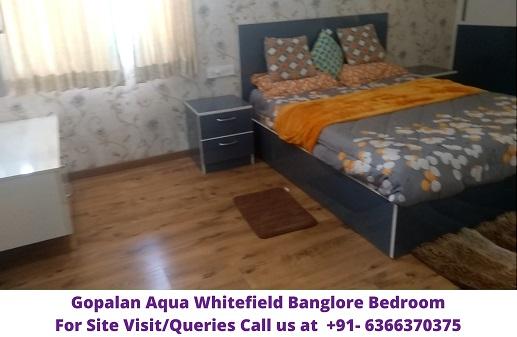 Gopalan Aqua Whitefield Banglore Bedroom