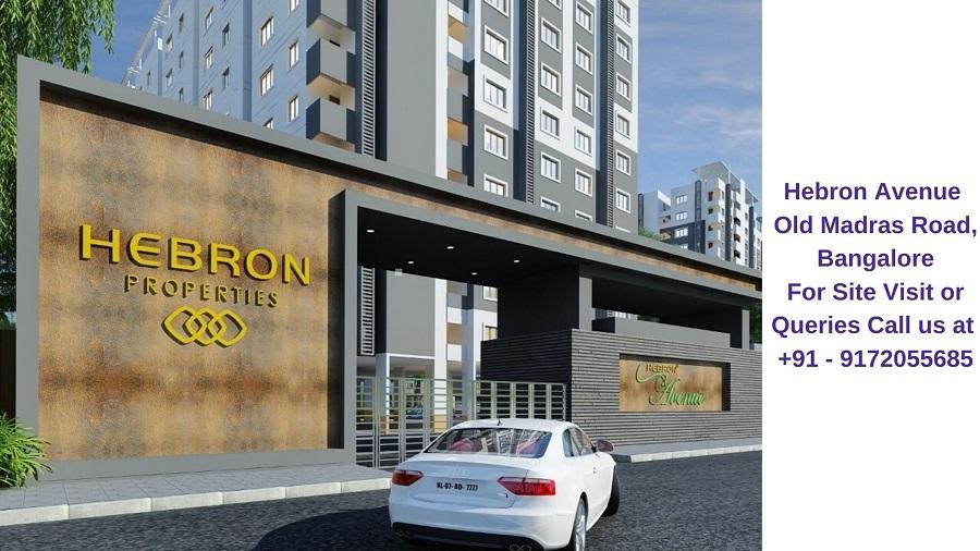 Hebron Avenue Old Madras Road, Bangalore Entrance