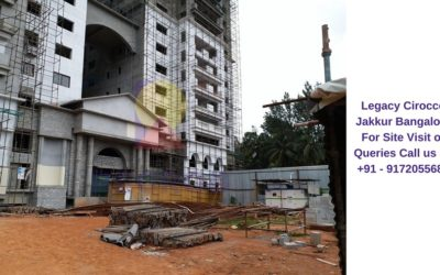 Legacy Cirocco Jakkur Bangalore Actual View of Project (2)