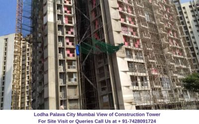 Lodha Codename Smart Buy Mumbai Actual View of Construction