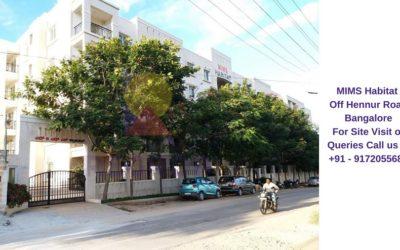MIMS Habitat Off Hennur Road Bangalore Main Entrance