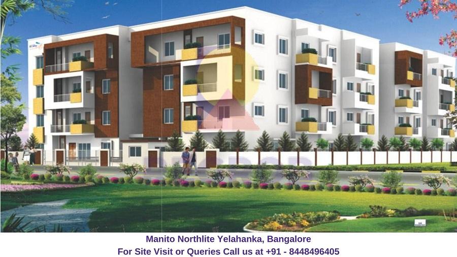 Manito Northlite Yelahanka, Bangalore Elevation (3)