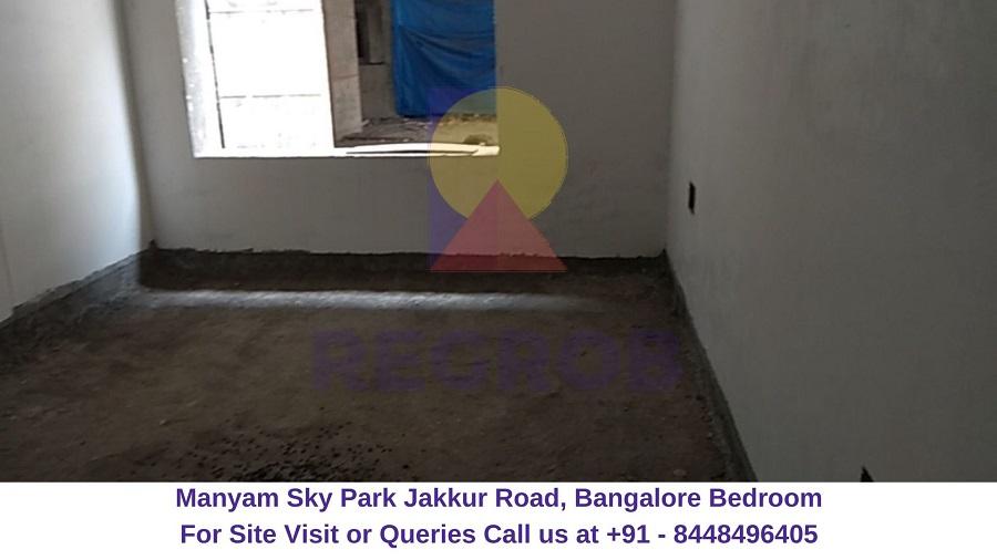 Manyam Sky Park Jakkur Road, Bangalore Bedroom (1)