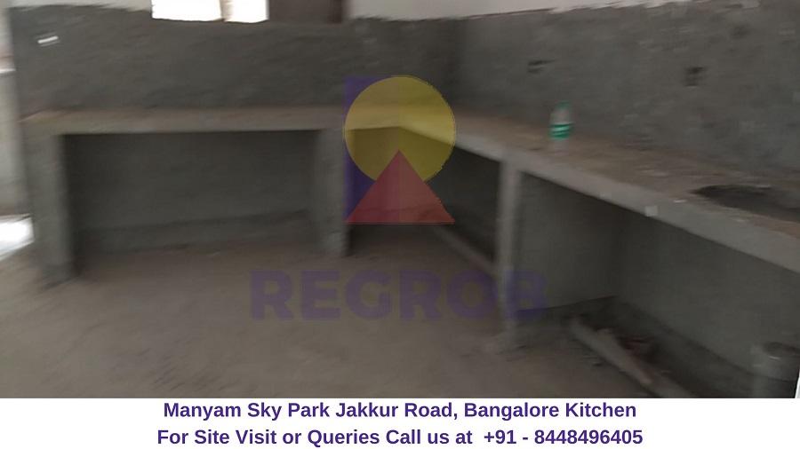 Manyam Sky Park Jakkur Road, Bangalore Kitchen