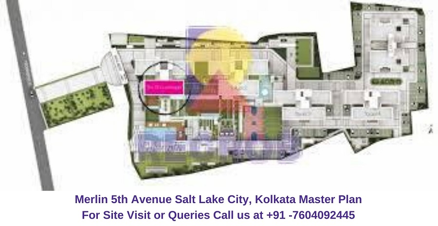 Merlin 5th Avenue Salt Lake City, Kolkata Master Plan