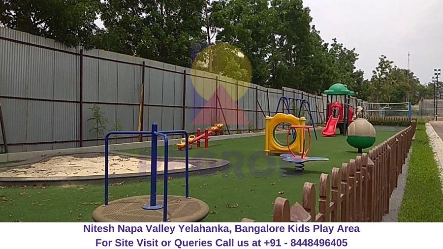 Nitesh Napa Valley Yelahanka, Bangalore Kids Play Area