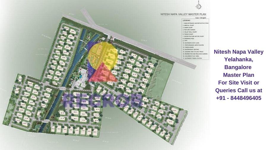 Nitesh Napa Valley Yelahanka, Bangalore Master Plan
