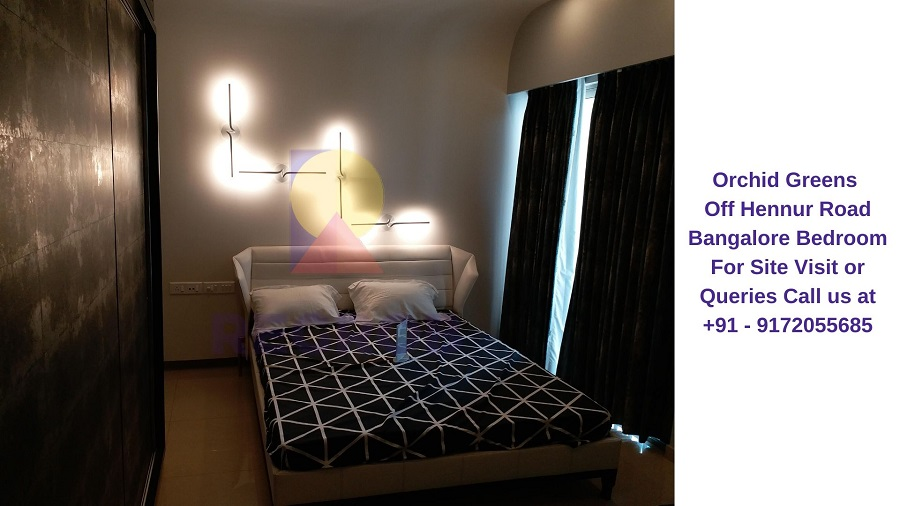 Orchid Greens Off Hennur Road Bangalore Bedroom (1)