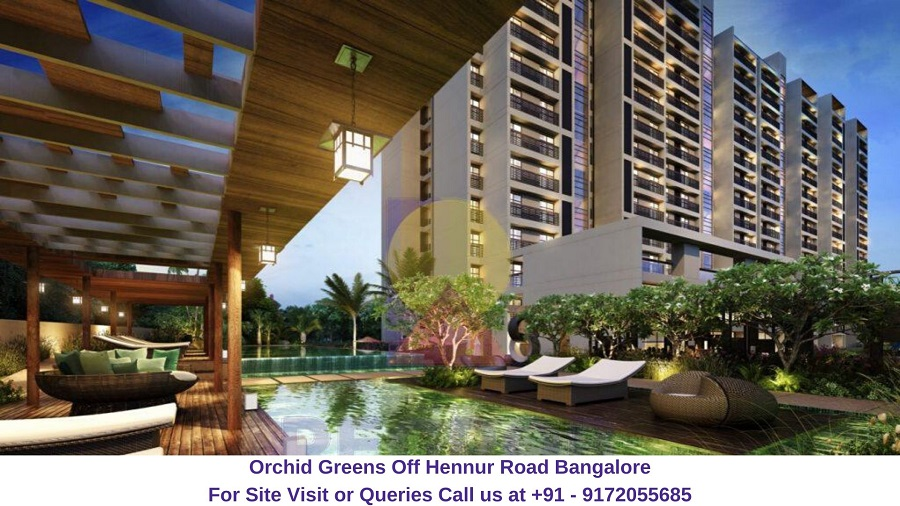 Orchid Greens Off Hennur Road Bangalore
