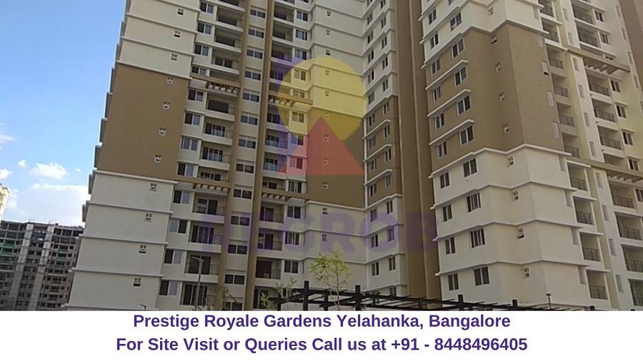 Prestige Royale Gardens Yelahanka, Bangalore Actual View of Project