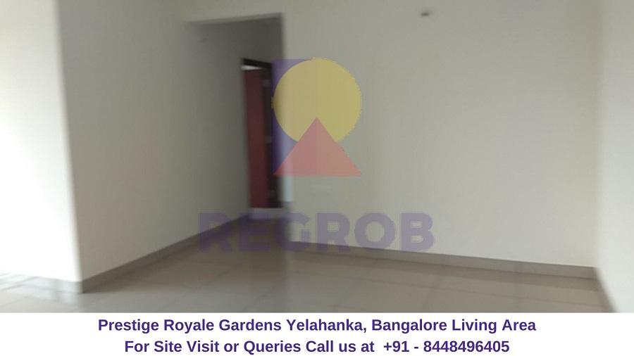 Prestige Royale Gardens Yelahanka, Bangalore Living Area