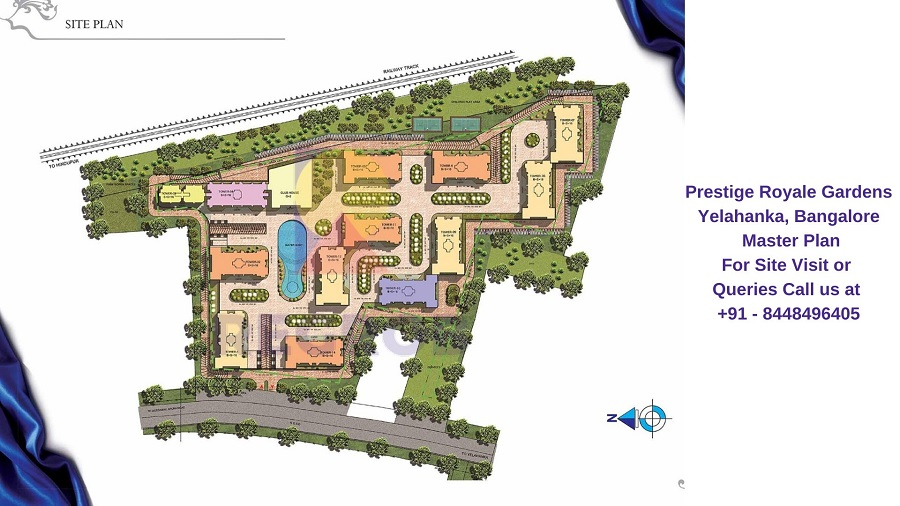 Prestige Royale Gardens Yelahanka, Bangalore Master Plan