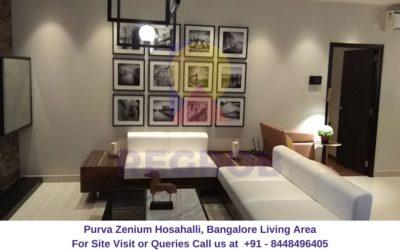 Purva Zenium Hosahalli, Bangalore Living Area