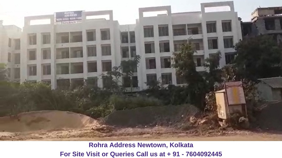 Rohra Address Newtown Kolkata Actual View of Project (2)