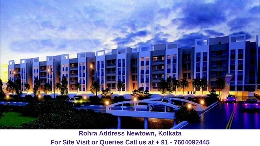 Rohra Address Newtown Kolkata Elevated View