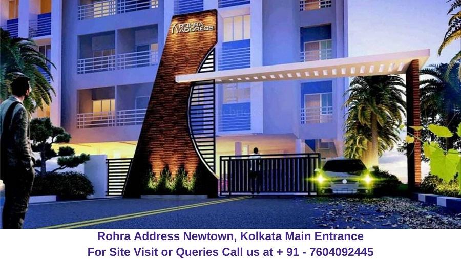 Rohra Address Newtown Kolkata Main Entrance Gate