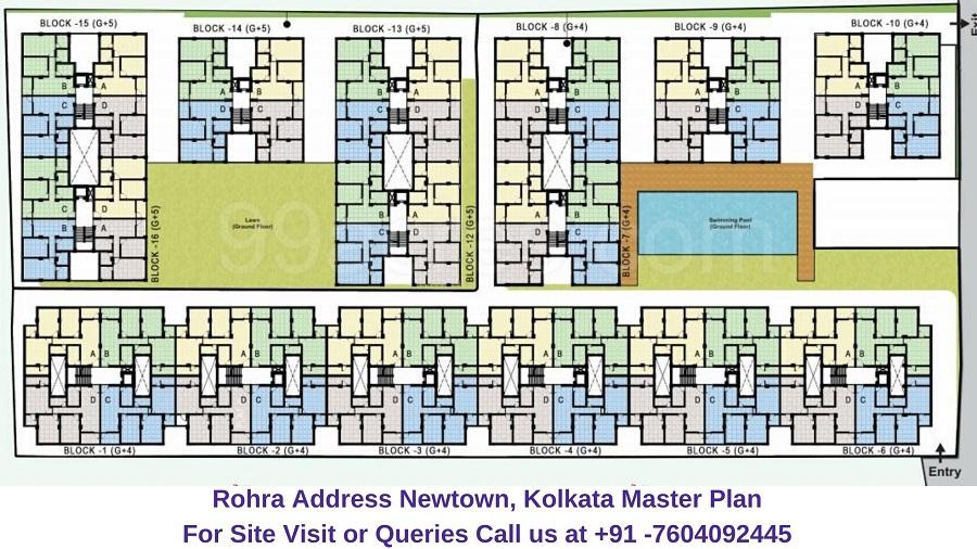 Rohra Address Newtown Kolkata Master Plan