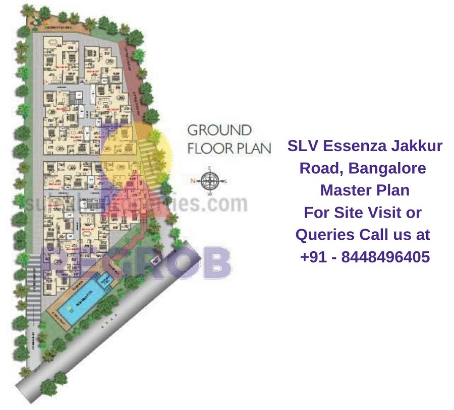 SLV Essenza Jakkur Road, Bangalore Master Plan