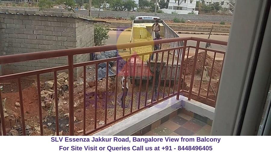 SLV Essenza Jakkur Road, Bangalore View from Balcony