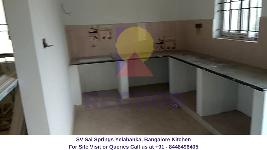 SV Sai Springs Yelahanka Bangalore Kitchen