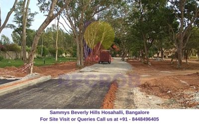 Sammys Beverly Hills Hosahalli, Bangalore Actual View of Site
