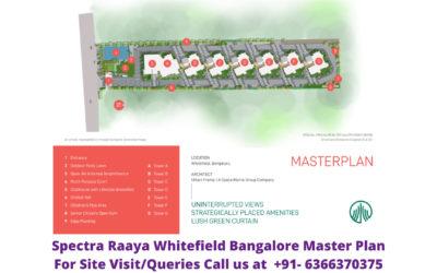 Spectra Raaya Whitefield Bangalore Master Plan