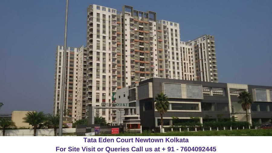 Tata Eden Court Newtown Kolkata Actual View of Tower (5)
