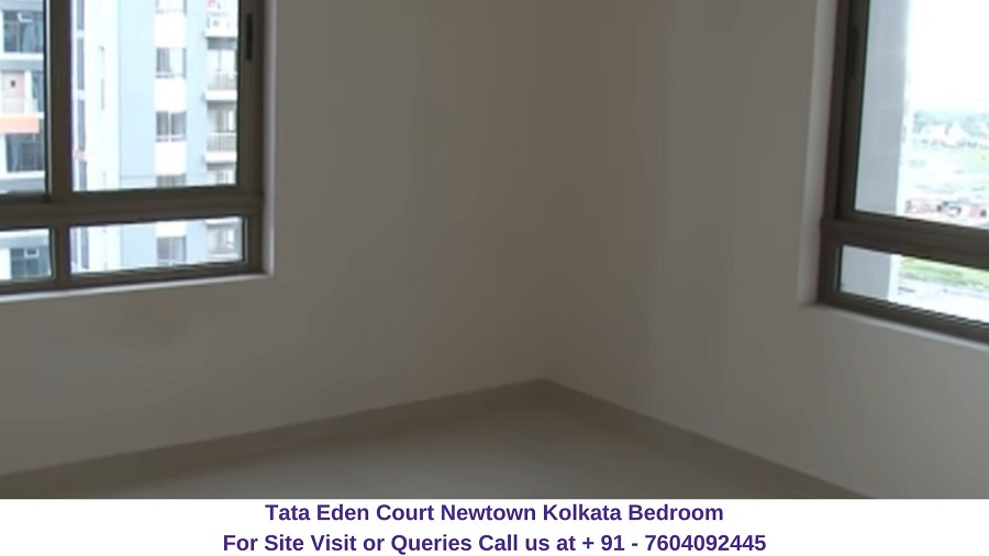 Tata Eden Court Newtown Kolkata Bedroom