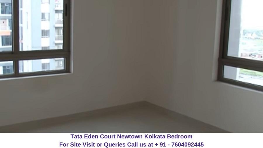 Tata Eden Court Newtown Kolkata Bedroom