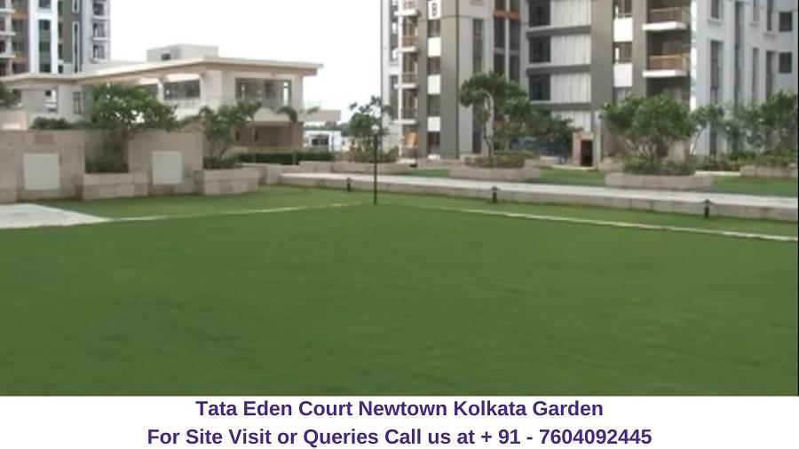 Tata Eden Court Newtown Kolkata Garden