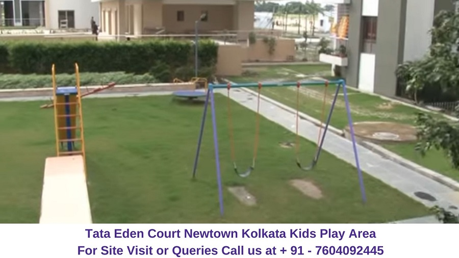 Tata Eden Court Newtown Kolkata Kids Play Area