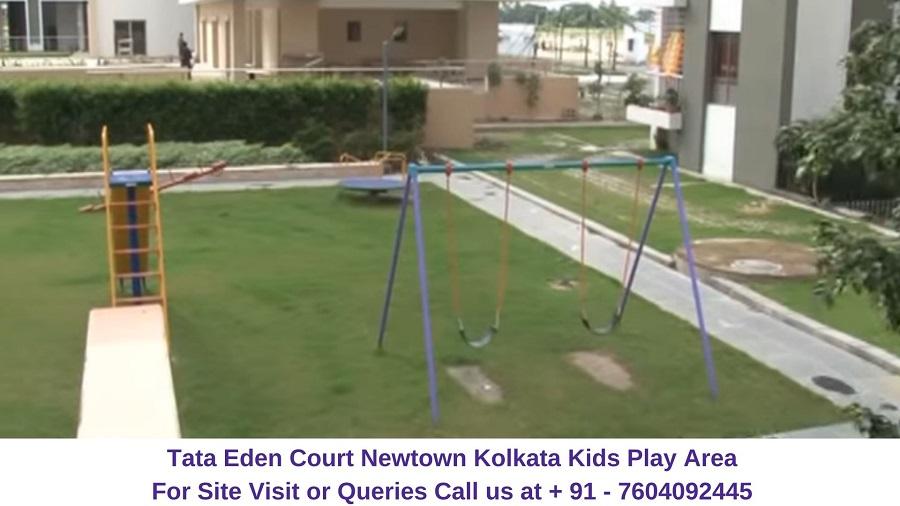 Tata Eden Court Newtown Kolkata Kids Play Area