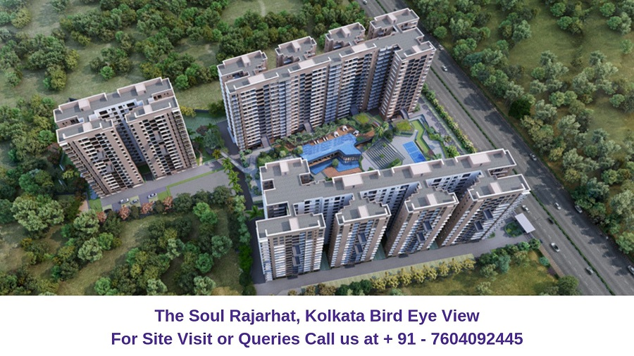 The Soul Rajarhat Kolkata Bird Eye View