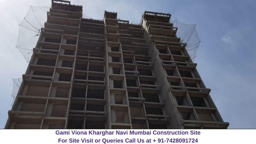 Gami Viona Kharghar Navi Mumbai Actual View of Construction Site