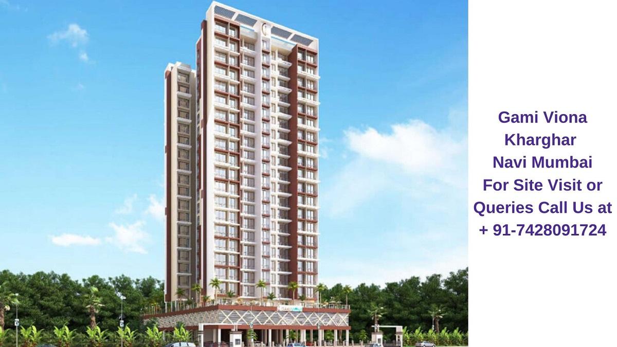 Gami Viona Kharghar Navi Mumbai Elevated View