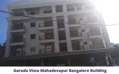Garuda Vista Mahadevapur Bangalore Building