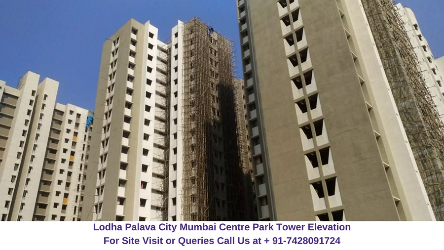 Lodha Palava City Mumbai Actual View of Centre Park Tower (3)