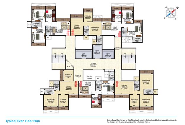 Gami Viona Kharghar Navi Mumbai Floor Plan