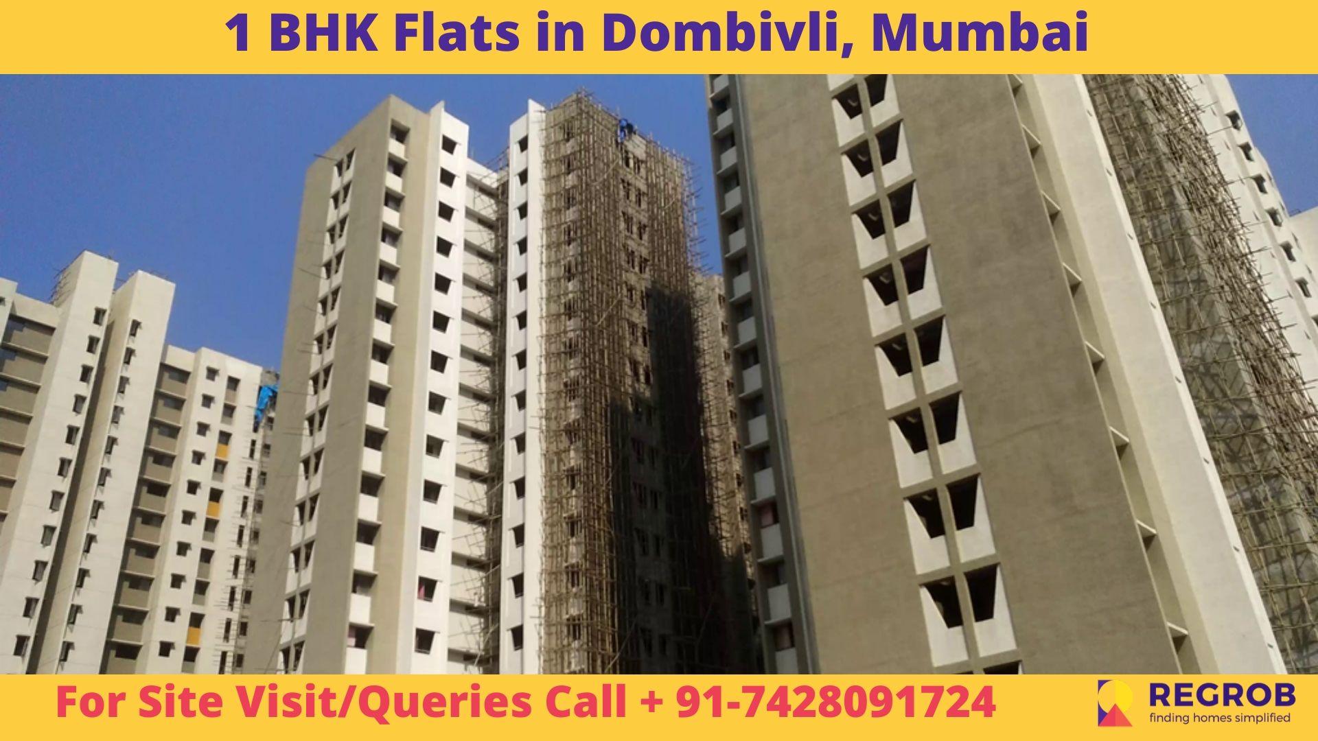 1 BHK Flats in Dombivli, Mumbai